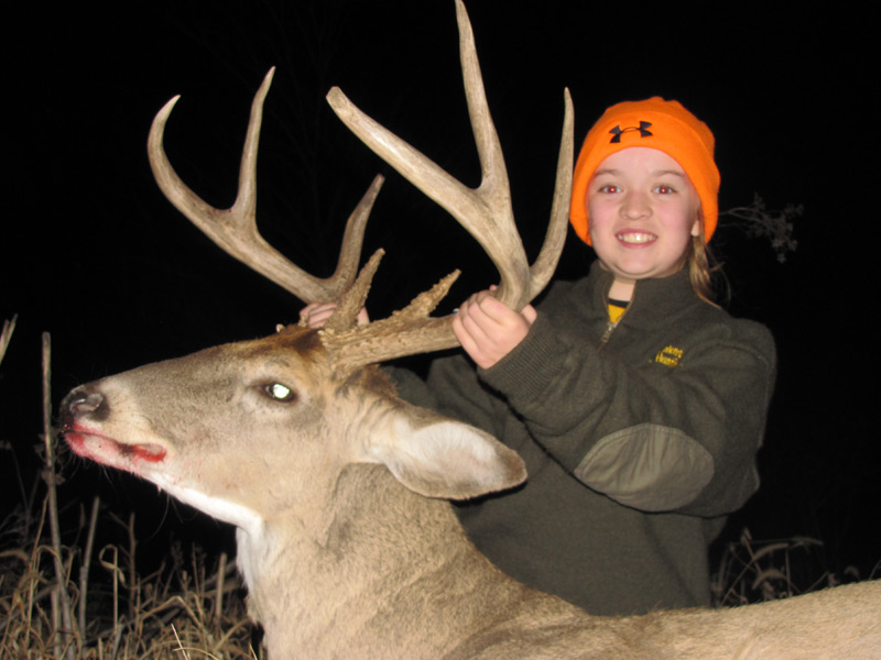 Whitetail Hunting in Kansas