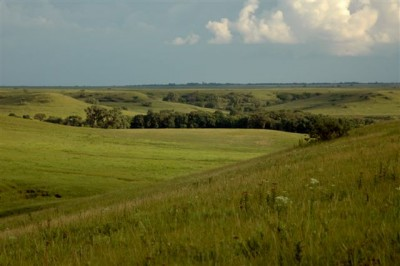 Flint Hills in the Spring